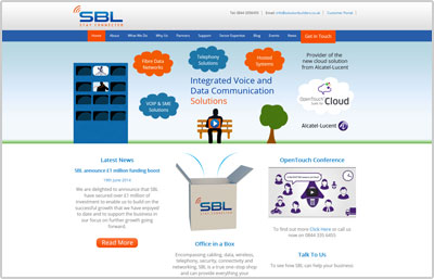 SBL Website Design
